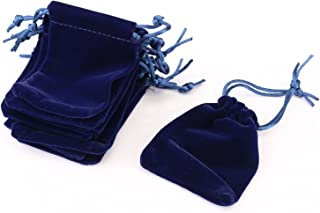 Imported Velvet Pouches for Jewellery Packaging(Set of 10 psc)