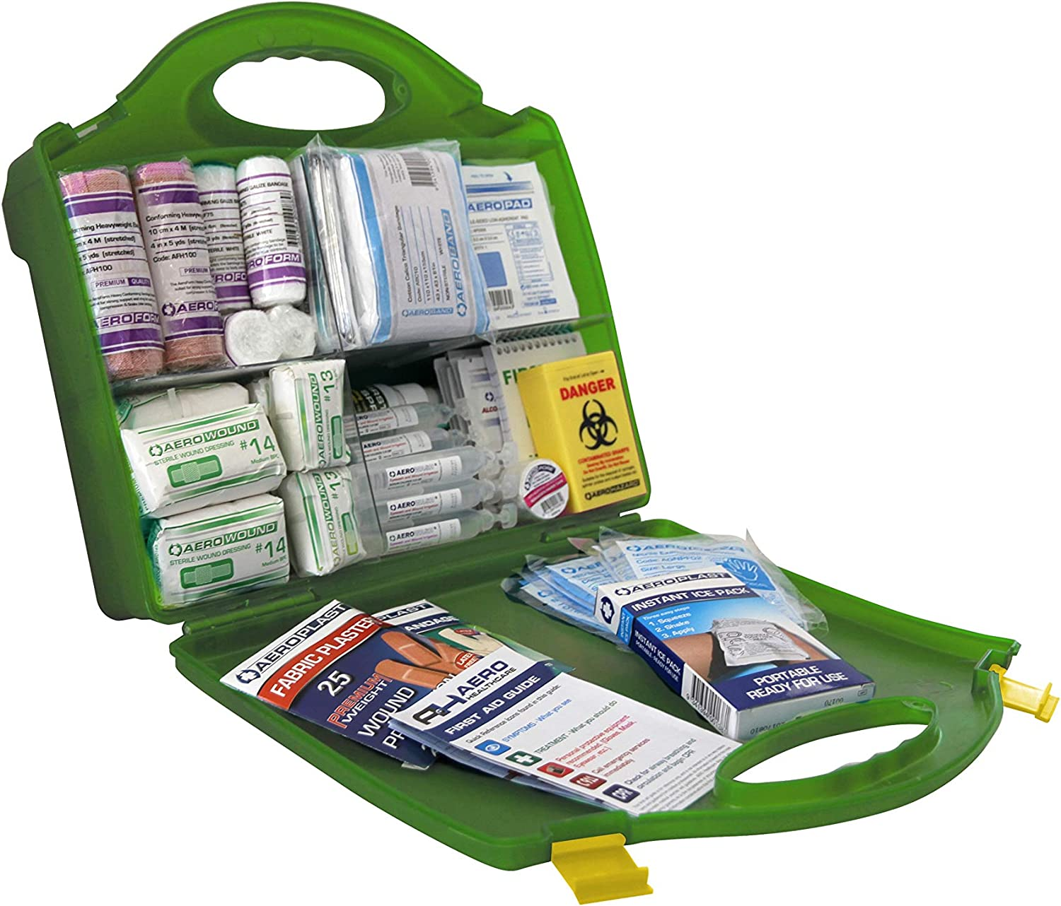 Operator Neat First Aid Kit Plastic Case Medium Workplace