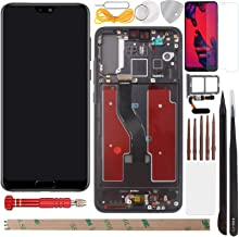 "YHX-US Screen Replaement for Huawei P20 Pro CLT-L09 CLT-L29 CLT-AL00 CLT-AL01 2018 6.10"" LCD Digitizer Screen Touch Screen..."