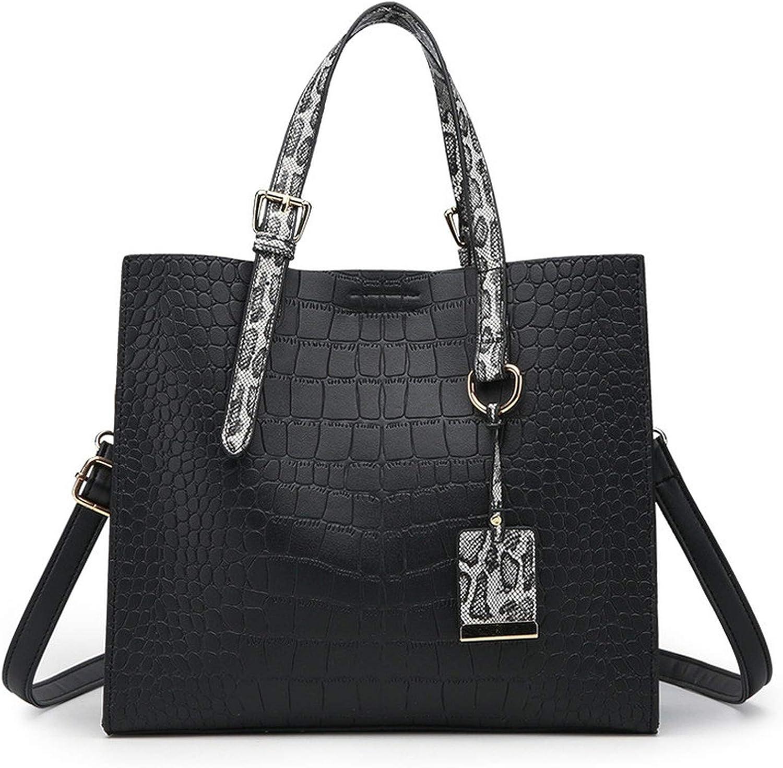 Women shoulder bag 2019 female Snake Shoulder Bags Handbags Ladies Tote Bag Serpentine Pattern Leather Bolsos women hand bags