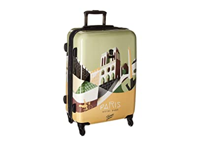 Heys America Riccardo Guasco Paris 26 Spinner (Multicolor) Luggage