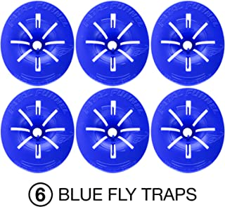 Fatal Funnel Fly Trap for Indoor/Outdoor Deterance - Traps and Kills Flies, Wasps, and Other Insects. Easy Fly Control - No More Chasing with A Fly Swatter! (6)