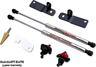 Redline Tuning 21-11030-03 Hood QuickLIFT ELITE Bolt-in Struts (Stainless Steel Struts, 5 year warranty) Compatible for Ford Mustang Shelby GT350