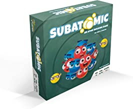 Subatomic: an Atom Building Game   A Strategy Board Game with Accurate Science
