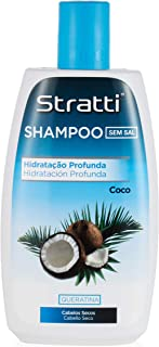 Stratti Coco - Champú Hidratación con Keratina sin Sal - 400 ml