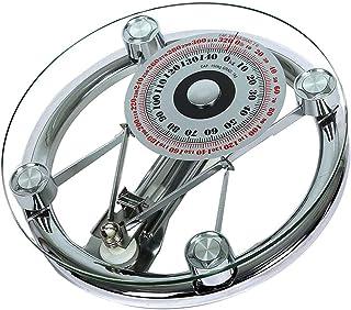 Básculas de Baño Mecánicas, Health + Básculas Corporales de Baño Báscula de Baño de Precisión Analógica con Esfera Grande, Que Mide LB Kg, hasta 150 Kg,330 LB