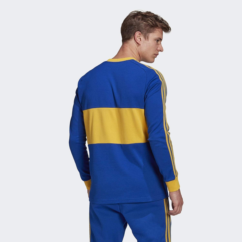 Amazon.com: Adidas 2020-21 Boca Juniors Long-Sleeve Icons Jersey ...