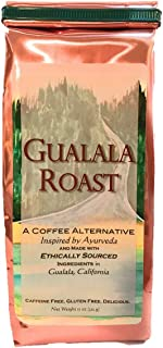 Ayurvedic Herbal Coffee Alternative / Substitute - Gualala Roast - Capomo (Maya Nut) | Ashwagandha | Chicory - Caffeine Fr...