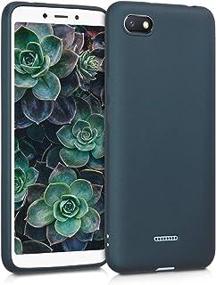 aa28f02fb71 kwmobile Funda para Xiaomi Redmi 6A - Carcasa para móvil en [TPU Silicona] -