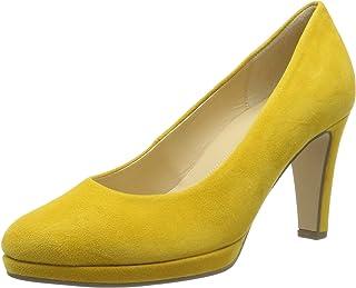 01b71425517794 Amazon.fr : Jaune - Escarpins / Chaussures femme : Chaussures et Sacs