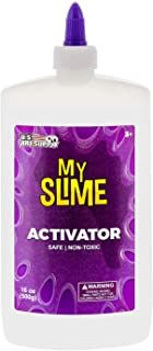 My Slime Activator Solution 16 Ounce Bottle - Make Your Own Slime, Just Add Glue - Kid Safe, Non-Toxic - Re...