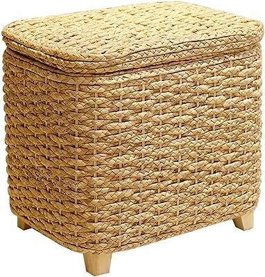 12x8inch Giapponese Tonda Pouf Ottoman Tessuti A Mano Poggiapiedi Pad Paglia Futon Cuscino per Meditazione Sgabello Divano-a 30x20cm Tatami Piano Cuscino Cuscino Seduta