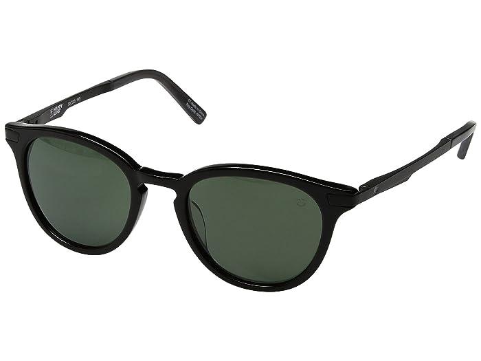 Spy Optic Pismo (Black/Happy Gray Green) Sport Sunglasses