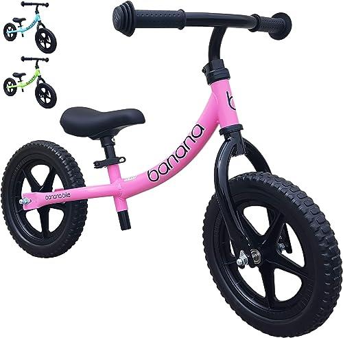 Banana LT Balance Bike - Lightweight for Toddlers, Kids - 2, 3, 4 Year Olds