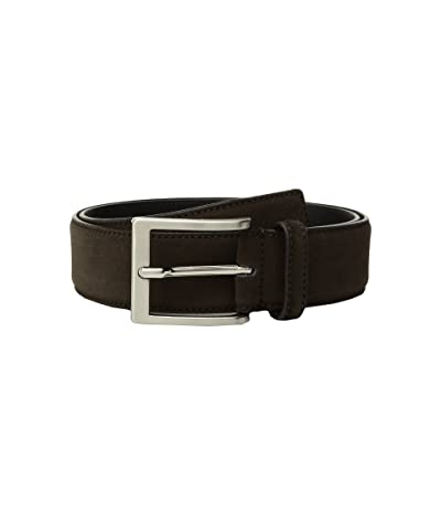 To Boot New York Belt (Dark Brown Suede) Men