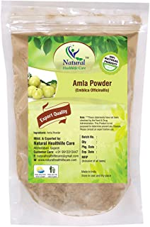100% Natural Amla Powder By Natural Healthlife Care (Indian Gooseberry/Emblica Officinalis (100 gm (0.22 lb) 3.5 ounces)