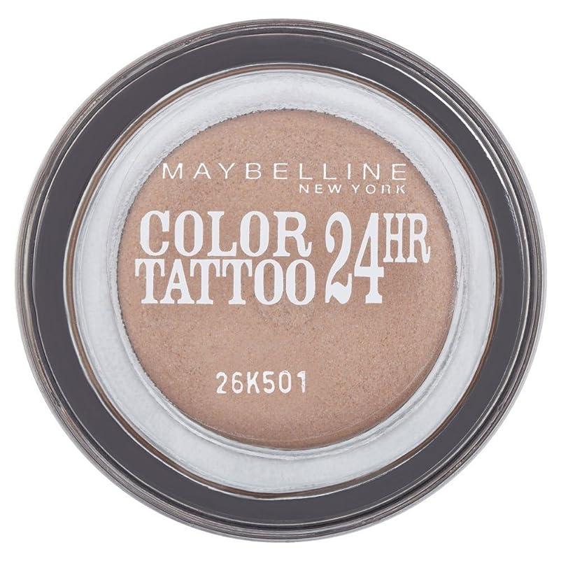 驚くばかりどれ区別Maybelline Eye Studio Color Tattoo 24hr Eye Shadow - On & On Bronze メイベリンアイ?スタジオカラータトゥー24時間アイシャドウ - オンとブロンズで [並行輸入品]