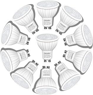 Hizashi Flicker-Free GU10 LED Bulbs, High CRI 94, 50W...