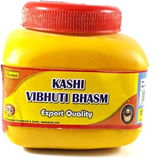 Siddhratan 150gm Scented Kashi Vibhuti Powder Ceremonial mark at forehead puja Om Namah Shivaya, Pure and religious