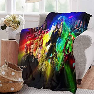 HouseDecor Blankets Avengers Infinity War New Poster Rh Throw Blanket Gifts for Kids and Woman 50X30 Inch