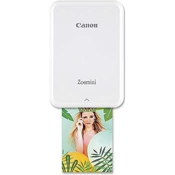 Canon 3204C006 ZOEMINI Stampante fotografica bianco/argento 314x400dpi