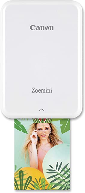 Canon Zoemini Pv-123 - Mini Impresora (Bluetooth USB 314 x 600 PPP Canon Mini Print) Color Blanco