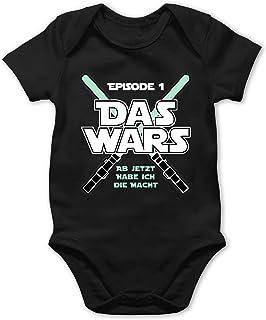 Shirtracer Das Wars Jetzt Habe ich die Macht Junge - Baby Body Kurzarm für Jungen und Mädchen