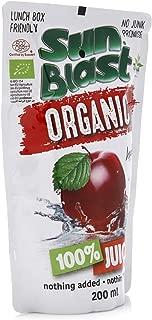 Sun Blast Organic Apple Juice, 200 ml