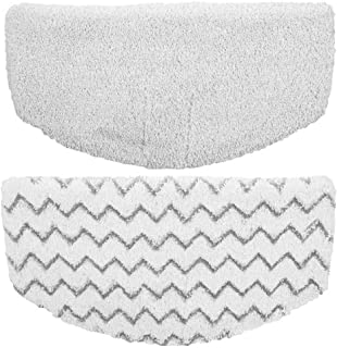 Flammi Steam Mop Pads Replacement for Bissell Powerfresh Steam Mop 1940 1440 1544 Series, Model 19402 19404 19408 1940A 1940Q 1940T 1940W (2 Pack)
