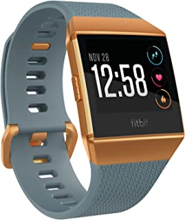 Fitbit Ionic Smart Fitness Watch - Slate Blue/Burnt Orange
