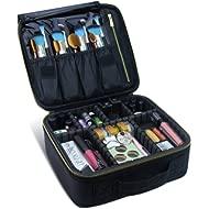 Travel Makeup Case,Chomeiu- Professional Cosmetic Makeup Bag Organizer Makeup Boxes With...