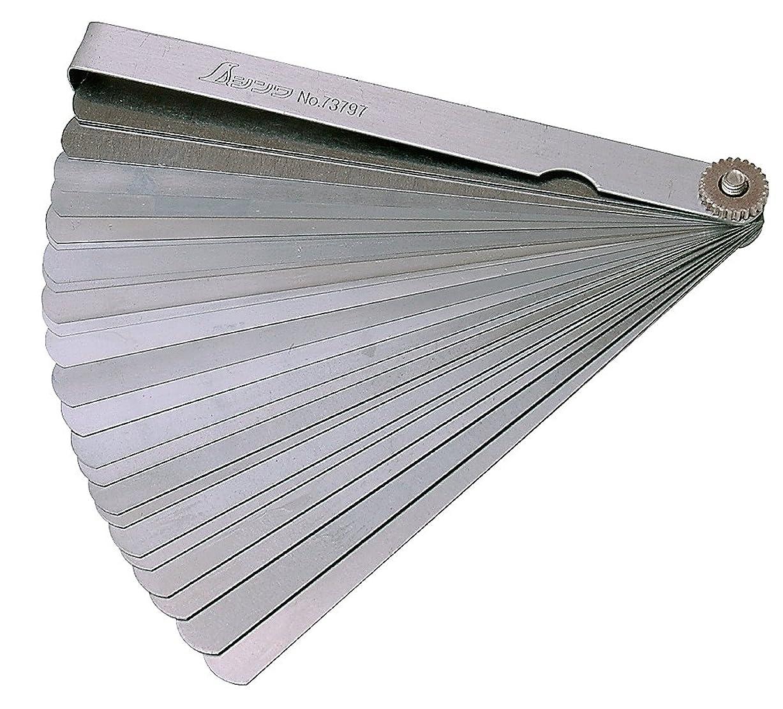 リル人類断言するシンワ測定 シックネスゲージ F 150mm 25枚組 73797