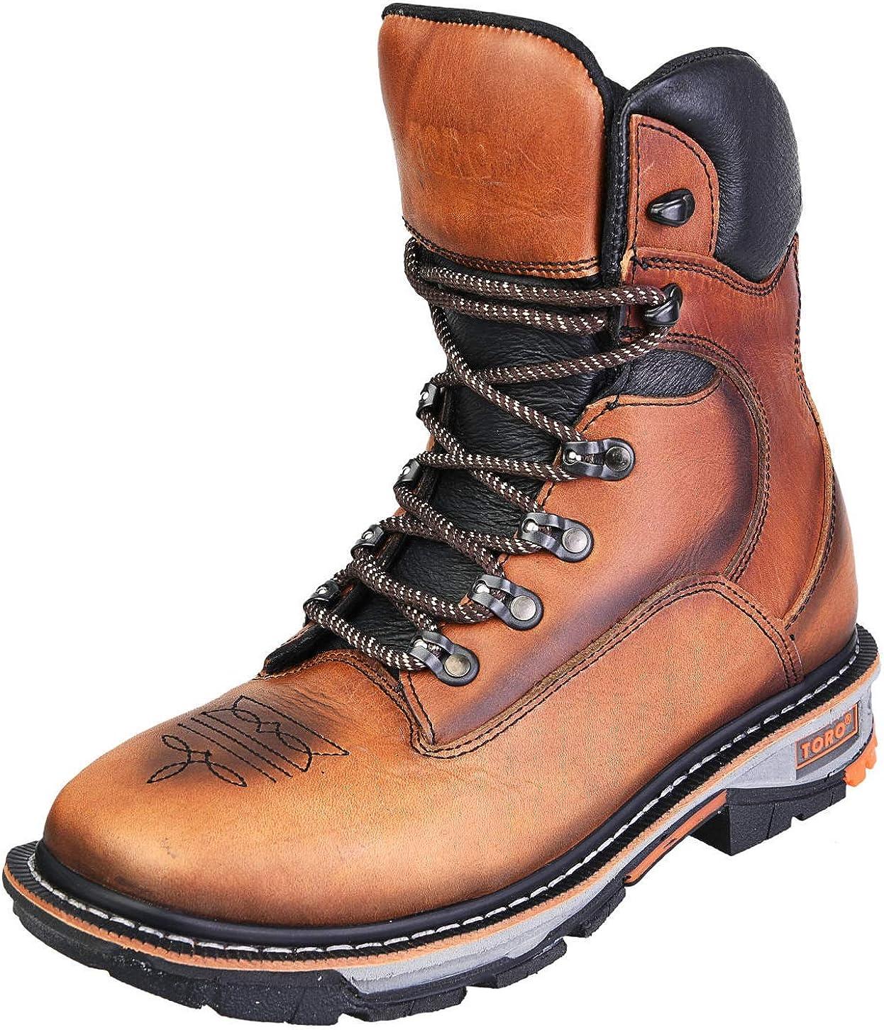 TORO BRAVO Men's Steel Toe Work Boots