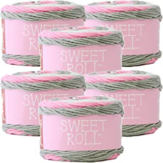 Premier Yarns 98415 Sweet Roll Yarn 6/Pk, Bubble Pop 6 Pack