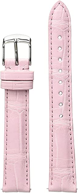 16mm Alligator Strap Pink