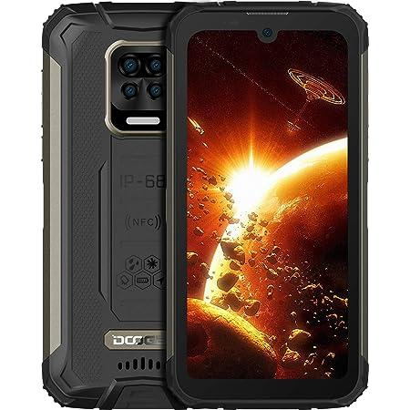 "DOOGEE S59 Pro Móvil, [2021] 10050mAh 4GB RAM+128GB ROM, IP68 IP69K Movil Antigolpes, Potente Altavoz 2 W, Cámara Cuádruple 16MP+Cámara Frontal 16MP Smartphone Android 10 4G, 5.71"", NFC/GPS, Negro"