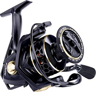 PLUSINNO Fishing Reel, 9 +1BB Spinning Reel, Ultra Smooth Powerful, Lightweight Graphite Frame, CNC Aluminum Spool for Sal...