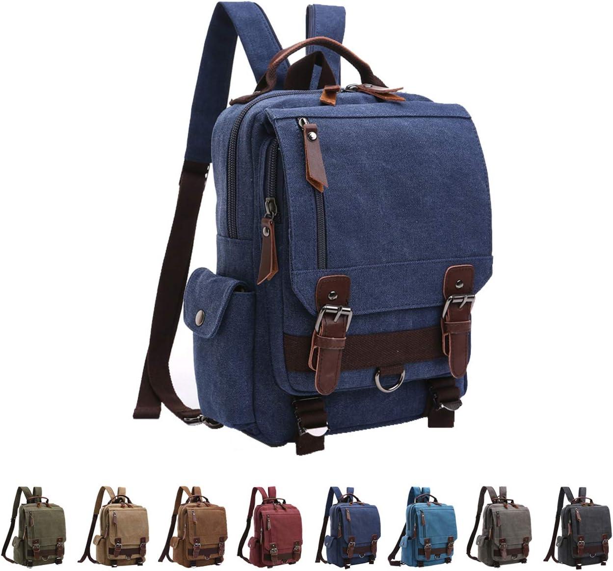 Popular product Queenie - Unisex Canvas New York Mall Cross Sling Bag Backp Messenger Body