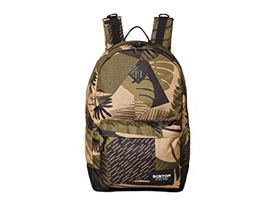 Burton Kettle Pack (Martini Olive Woodcut Palm) Day Pack Bags