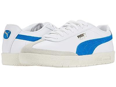 PUMA Oslo-City PRM (Puma White/Whisper White/Lapis Blue/Vaporous Gray) Men