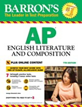 Barron's AP English Literature and Composition with Online Tests (Barron's Test Prep)