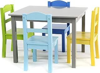 Tot Tutors TC451 Table chair, Grey/Blue/Green/Yellow