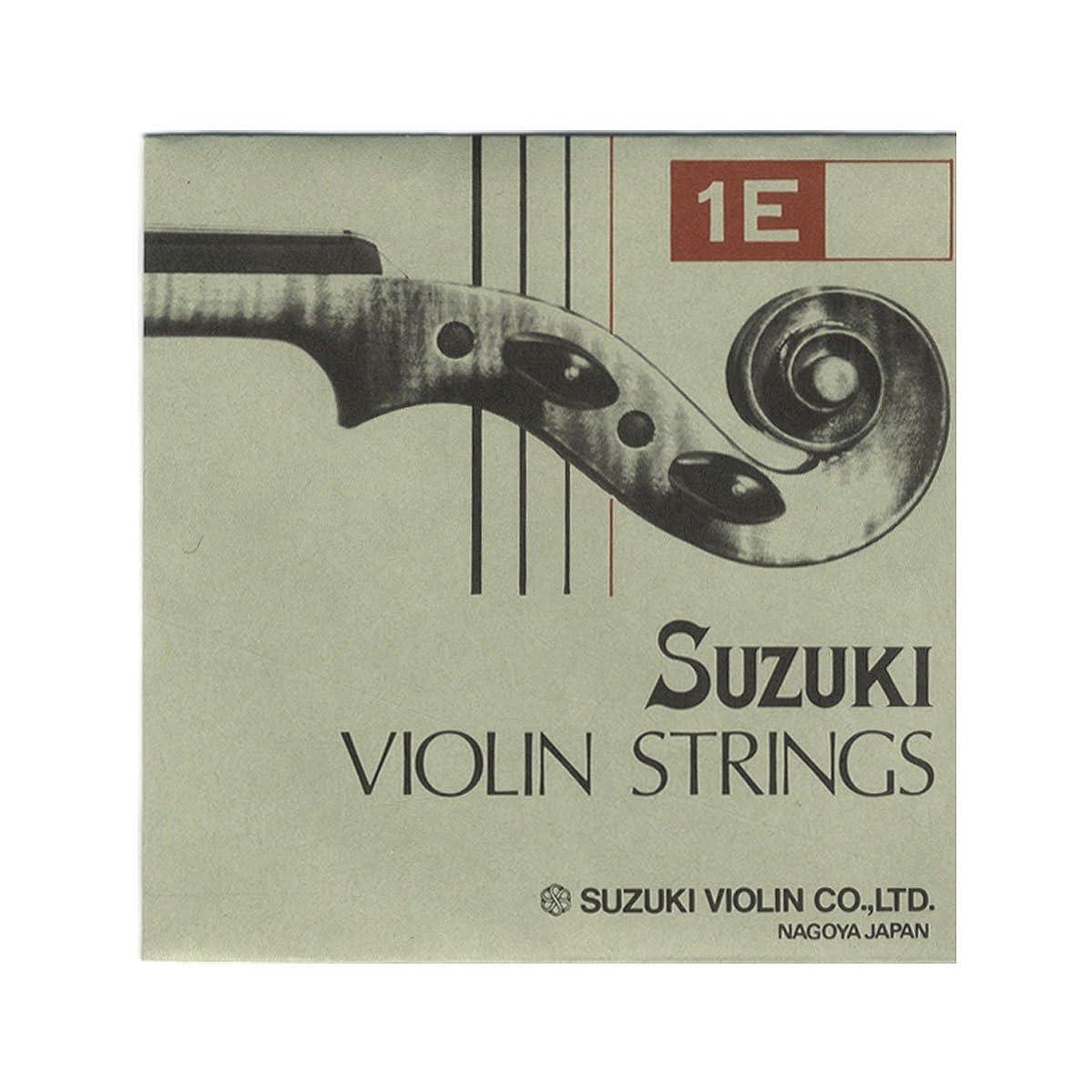 洋服濃度勝利した鈴木バイオリン 弦 Suzuki スズキ E スチール Violin ( ヴァイオリン ) 4/4-3/4用