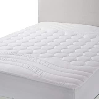 Bedsure Mattress Pad King Size – Breathable – Ultra Soft Quilted Mattress Pad..
