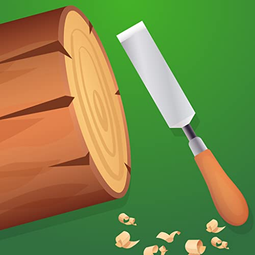 Wood Cutting Shop - Brick Turning Game: Wood Shaping Simulator