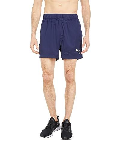 PUMA Active 5 Woven Shorts (Peacoat) Men