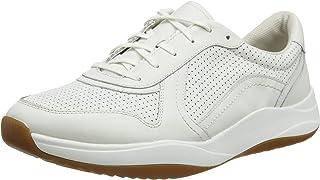 حذاء رياضي عصري للرجال من كلاركس، مقاس, (ابيض), 9 UK