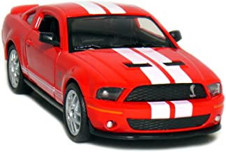 Kinsmart 1967 Shelby GT-500 Collectible Die-Cast Car- 1:38 Scale (Red)