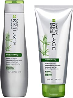 Matrix Biolage Advanced Fiberstrong Champú envase de 250 ml y acondicionador envase de 200 ml