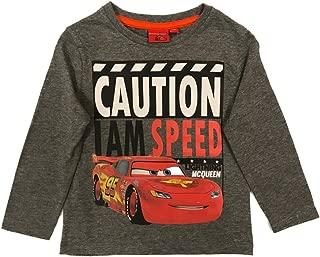 CARS maglietta manica lunga 98 104 110 116 122 128 manica lunga top Pullover ragazzo Disney NUOVO